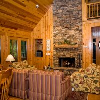 Sapphire Lodge Living Room