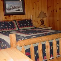Ruby Lodge Cedar Bed